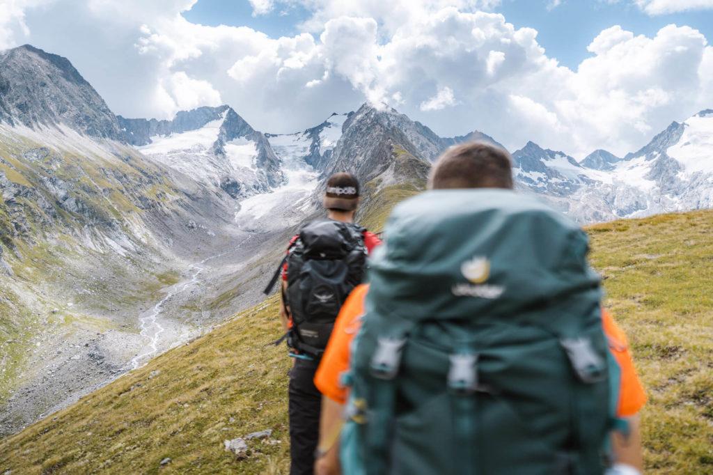 Wandern auf den Berg